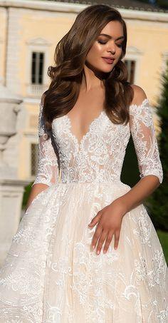 Milla Nova Bridal 2017 Wedding Dresses angelina / http://www.deerpearlflowers.com/milla-nova-2017-wedding-dresses/7/