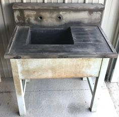 Great Vintage Soapstone Sink-Antique-Industrial    eBay