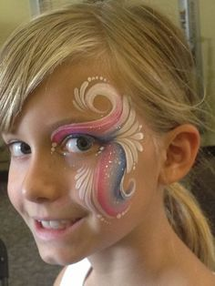 Super painting face kids tutorials cheek art 25 ideas a very cool spiderman face paint design step by step by annabel hoogeveen Girl Face Painting, Painting For Kids, Body Painting, Simple Face Painting, Face Painting Unicorn, The Face, Face And Body, Christmas Face Painting, Cheek Art