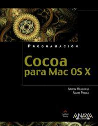 COCOA PARA MAC OS X PROGRAMACION COCOA PARA MAC OS