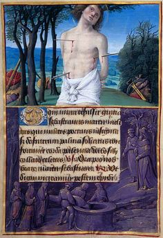 Hours of Henry VIIIPrayer Book of Anne de Bretagne. Illuminated around 1500 by the artist Jean Poyer