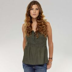 FOSSIL® New Arrivals Clothing:Women Ashley Woven Cami WC1409