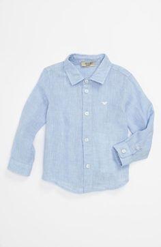 Armani Junior Chambray Sport Shirt (Baby)