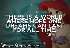 I do not remember Ariel saying this. Does anyone have proof of this quote?
