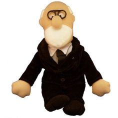 Sigmund Freud Plush Little Thinker Doll - by The Unemployed Philosophers Guild by The Unemployed Philosophers Guild *** Click on the image for additional details. (This is an affiliate link) #PlushFigures