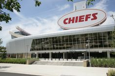 Arrowhead Stadium is home to the Kansas City Chiefs and Chiefs Kingdom. It is one of the most iconic stadiums in the NFL, and holds the world record for the loudest crowd roar at a sports stadium at dbA. Sports Stadium, Stadium Tour, Arrowhead Stadium, Kansas City Chiefs, Missouri, Tours, Exterior, Game, Gifts