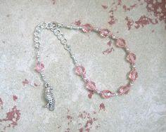 Freyja (Freya) Prayer Bead Bracelet: Norse Goddess of Love, War, Passion, and Magic by HearthfireHandworks on Etsy