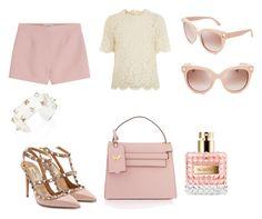 """My Valentino fashion look"" by lidza on Polyvore featuring мода и Valentino"