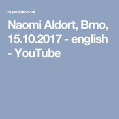 Naomi Aldort, Brno, 15.10.2017 - english - YouTube
