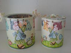 Para seu chá de panela ficar com uma decoração charmosa, ou então como uma lembrancinha de casamento ou outra ocasião. Assim, as latas recic...