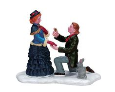 Lemax Caddington Village A Perfect Proposal Figurine 72397 * This is an Amazon Affiliate link. You can get more details by clicking on the image.