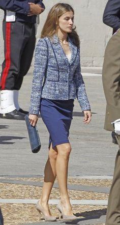 PINTEREST: @MUSKAZJAHAN - Queen Letizia of Spain /QueenBoss #AY Day To Night…