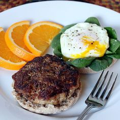 Turkey Breakfast Sausage. For a lean, flavorful, high protein start to your day. Super easy to make!