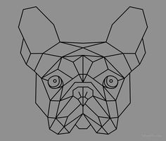 French Bulldog Geometric by Streethunter