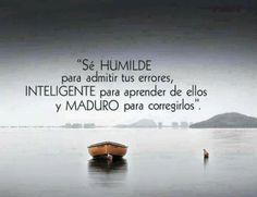 Humildad inteligencia y madurez