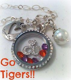 Clemson Univeristy style Origami Owl locket! Go Tigers!!! Visit my website: www.lauren.beck33.origamiowl.com Or like me on Facebook Facebook.com/laurenbeck33.origamiowl