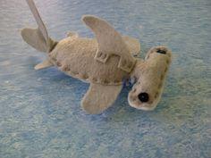 Shark Cat Toys  Eco Friendly Felt  Organic Catnip by SunsetPets, $6.50