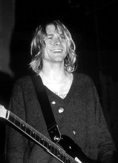 Kurt Cobain. Wish you were here <3