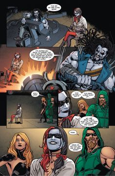Harley Quinn Forces Lobo Into Therapy 5  http://comicnewbies.com/2015/03/30/harley-quinn-forces-lobo-into-therapy/