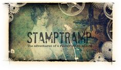 Stamptramp, the adventures of a rubber stamp addict. Beautiful artwork and ideas bordering on GRUNGE.
