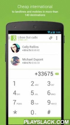 Libon - International Calls  Android App - playslack.com ,  GET FREE LIBON OUT MINUTES• Join Libon now and get FREE minutes to call landlines and mobiles in more than 150 countries¹.LIBON OUT: CHEAP CALLS TO LANDLINES AND MOBILES ALL AROUND THE WORLD¹!• With Libon international bundles, make cheap calls to landlines and mobiles in Africa, Asia, Europe, North America or Middle East.• Top up with Libon Out minutes to call your loved ones even when you are abroad.FREE CALLS AND UNLIMITED…