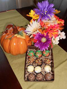 Fall Cake balls!