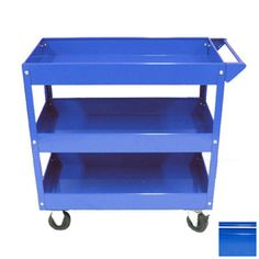 Excel 30.7-in Utility Cart Tc301a-blue