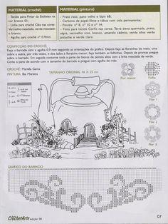 Artesanato com amor...by Lu Guimarães: Revista Completa Barrados em crochê