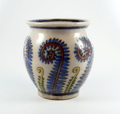 Overall very good condition with signs of aging. Glaze is missing in a few places (see pictures). Hand painted. | eBay!