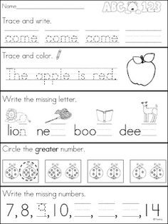 FREE Kindergarten morning work for the month of December | New ...