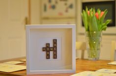 Handmade Scrabble Art for Weddings Family by CraftHouseCreations, €35.00