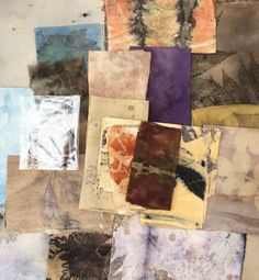 Treasures from my scrap basket / Caroline Bell Textiles