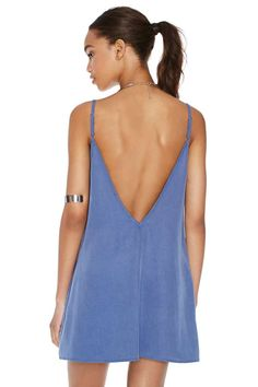 After Party Vintage Let It Slip Dress