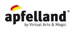 Das Apfelland Logo in Second Life, powered by arktis.de