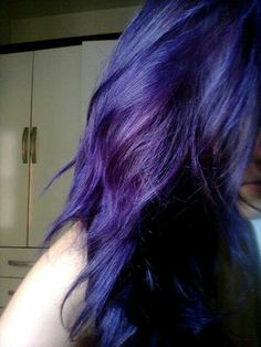 Indigo Hair More Color Blue Ombre Purple Pastel
