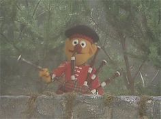 """This Scotsman was among the people from 108 countries that appeared on The Muppet Show in episode 317. He was performed by Jerry Nelson. He played """"Aquarela do Brasil"""" on his bagpipes; when they started to play the song by themselves he shot them."""