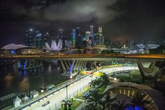 The Unique views of the Grand Prix of Singapore