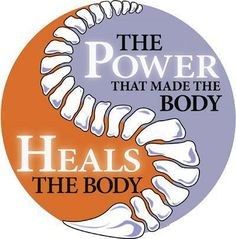 The Power that made the body heals the body. A proper functioning nervous system, with #chiropractic