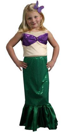 Mermaid Costume - Halloween Kids