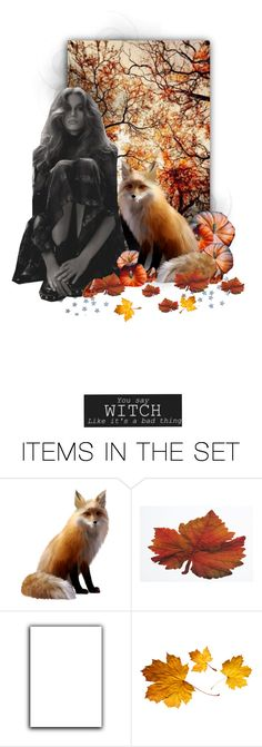 """☽ Autumn seemed to arrive suddenly that year. The morning of the first September was crisp and golden as an apple ☾"" by nina-art-rose ❤ liked on Polyvore featuring art, autumn, magic, fairytale and artset"