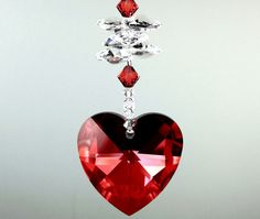 BIG+40mm+Red+Magma+6202+Heart+Beaded+Sun+by+pearlplaceNmore,+$25.99