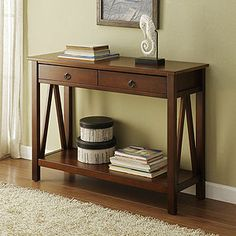 Marshall Console Table - perfect for the entry of our living room