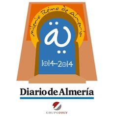 Logo para Diario de Almería con motivo del Milenio del Reino de Almería. Elaborado por el Dpto. de Diseño y Publicidad de Grupo Multidial.