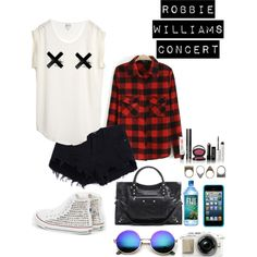 Yesterday was a concert night! RW by carolinamizan on Polyvore featuring polyvore, fashion, style, Reiss, Balenciaga, Pull&Bear, Speck, Revo and Bobbi Brown Cosmetics