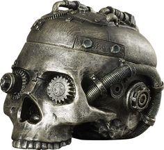 Ludlow Skull Containment Vessel Figurine