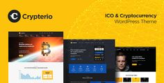Looking for an ICO landing page or Cryptocurrency website for your Crypto project?     Meet Crypterio – the best-selling premium ICO landing page and Cryptocurrency WordPress theme, that perfectl...