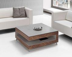 Mesa centro elevable, chapa nogal americano y lacado gris.Opción diferentes acabados en lacados o madera y medidas. Calidad medio-alta Referencia:...