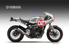 El popular diseñador italiano han pensado siete versiones distintas de la nueva Yamaha tricilíndrica.