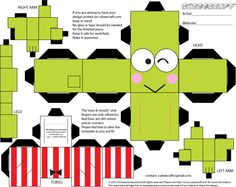 Nicole's Papercraft: Keropi wasn't an ugly frog!!