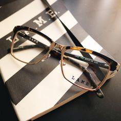 LAMB brown and black tortoise glasses / L.A.M.B. by Gwen Stefani optical eyewear